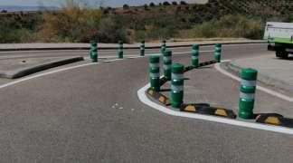 Se modifica el acceso por la travesía de la Virgen Blanca para evitar el tráfico de camiones por el casco