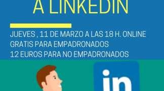 El 09 de marzo, curso online sobre LinkedIN