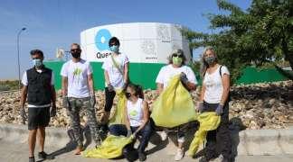 Voluntarios seteros retiran del camino de Alovera más de 24 m³ de escombros y otros residuos