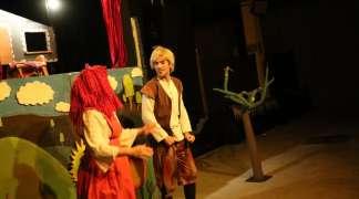 Ayer, teatro para niños en Quer, con la compañía Tragaleguas Teatro