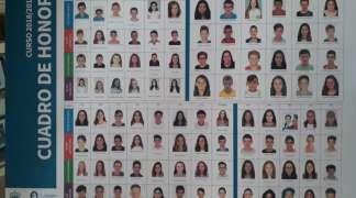 Cuatro alumnos seteros, distinguidos por sus centros de estudios