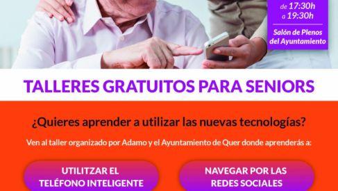 Curso gratuito de uso de móviles para mayores