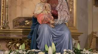 En 2020, solo oficio religioso en celebración de la Virgen Blanca de Quer