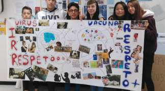Seis representantes de Quer participaron en el IV Foro Provincial por la Participación Infantil