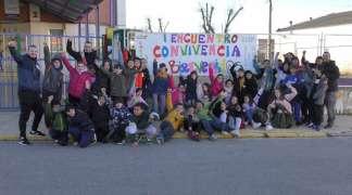 Primer encuentro entre los colegios García Lorca y Villa de Quer