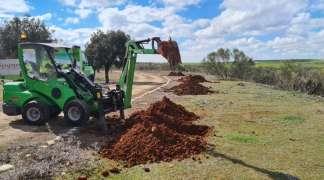 Diecisiete nuevos árboles en Dehesa Alta