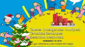 Sigue abierto por Navidad el Campamento Urbano de Quer