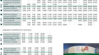 A partir de mañana, con la nueva normalidad, el servicio de autobús, al 75%