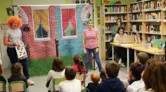Story time, con motivo del X Aniversario de la Biblioteca
