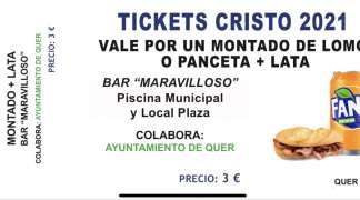 A partir de mañana, venta anticipada de tickets para consumiciones en la celebración del Cristo
