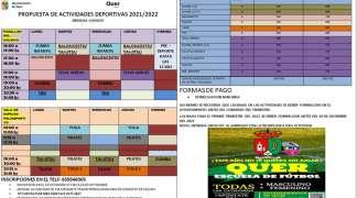 Dos nuevas disciplinas en la oferta deportiva setera para la temporada 2021-2022