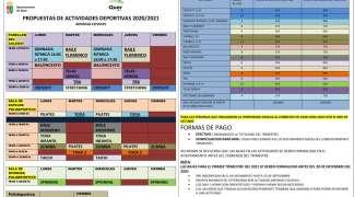 El Ayuntamiento mantiene los plazos de inscripción y fecha de inicio de la temporada deportiva
