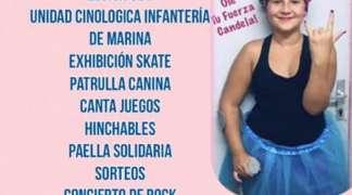 El sábado, 30 de marzo, gran evento solidario en favor de Candela Granados