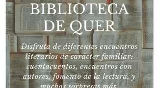 X Aniversario Biblioteca. Quer celebra en noviembre el X Aniversario de su Biblioteca