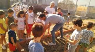 22 de noviembre, primer Día sin Clase, con campamento Urbano en Quer