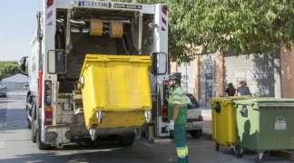 La Mancomunidad Vega del Henares desinfectará semanalmente todos los contenedores de Quer
