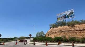 Obras en la calle Torrelaguna, para mejorar la canalización de pluviales