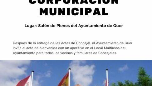 Pleno de investidura nuevo Ayuntamiento