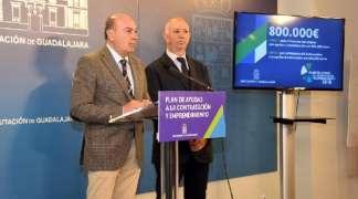 En marcha un Plan de Apoyo a la Contratación y Emprendimiento de la Diputación con 800.000 euros para el fomento del empleo