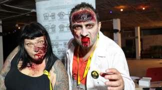 Quer se convirtió el sábado en una Zombie Zone, albergando una prueba survival