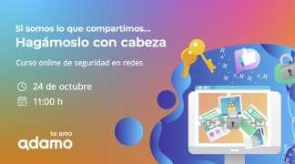 Adamo ofrece, junto al Ayuntamiento de Quer, un curso online gratuito sobre seguridad y privacidad en las redes sociales