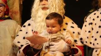 Melchor visita a los niños seteros mañana por la mañana