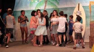 Gran participación en la fiesta setera de San Juan