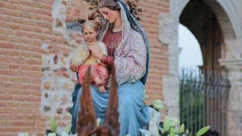 3 de agosto. Fiesta de la Virgen Blanca de Quer