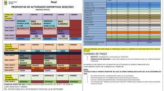 Catorce disciplinas en la oferta deportiva setera para la temporada 2020-2021