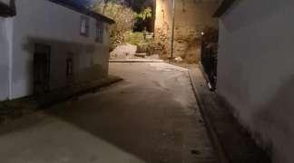 Instalada luminaria solar en la Travesía de Cervantes