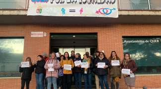 AMQ dio lectura a un manifiesto con motivo del Día Internacional de las Mujeres