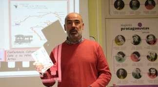X Aniversario de la Biblioteca: El bibliotecario José Antonio Orteu acerca a Cela y a su Centro de Encuentro de Arte y Literatura a los lectores seteros