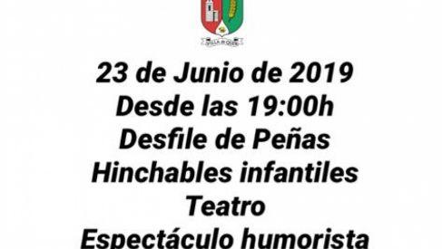 Fiestas de San Juan 2019. 23 de Junio